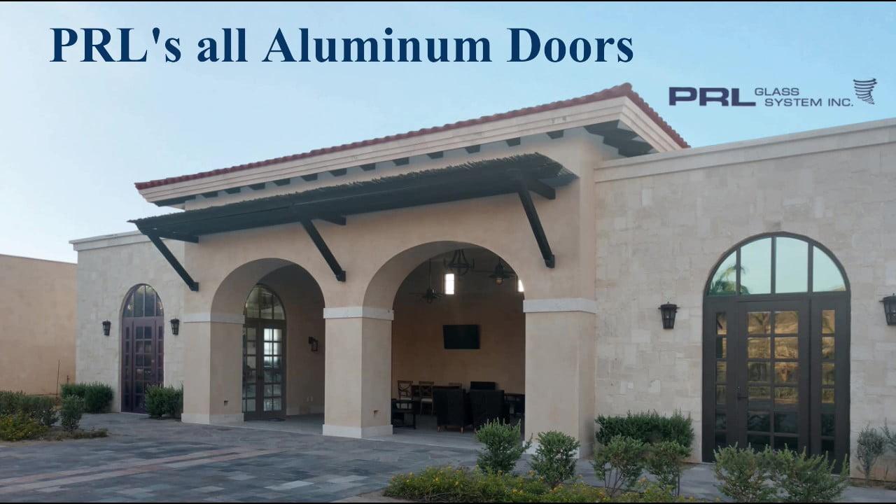 Complete Aluminum Doors Video