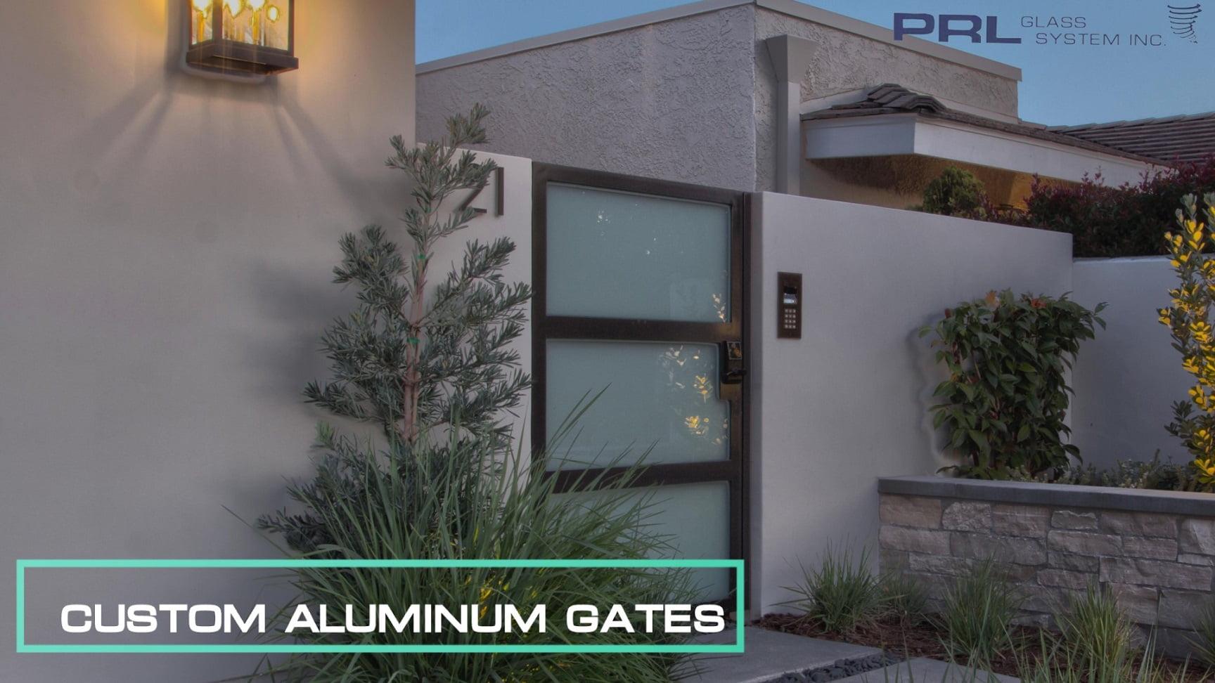 Custom Aluminum Gates Video