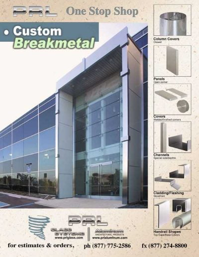 Custom Architectural Break Metal
