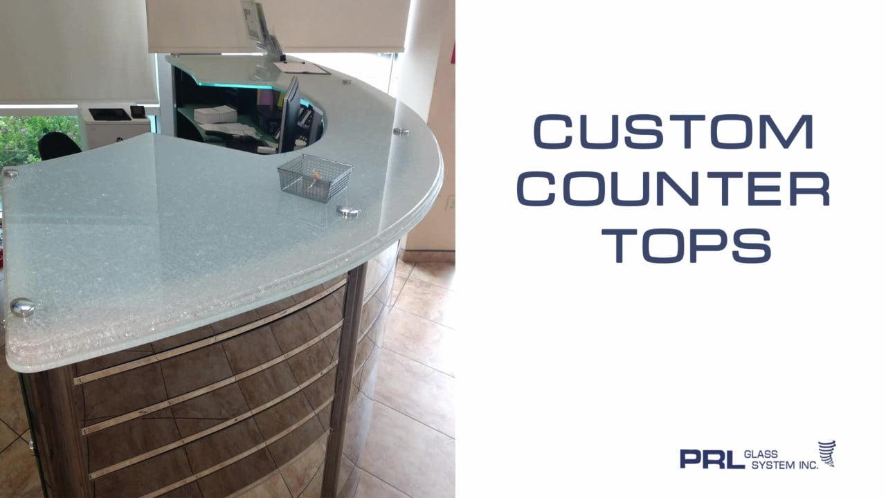 Custom Glass Countertops Video
