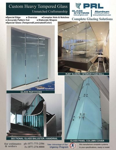 Custom Heavy Tempered Glass