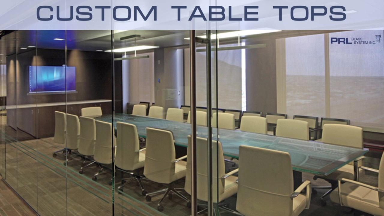 Custom Table Tops Video