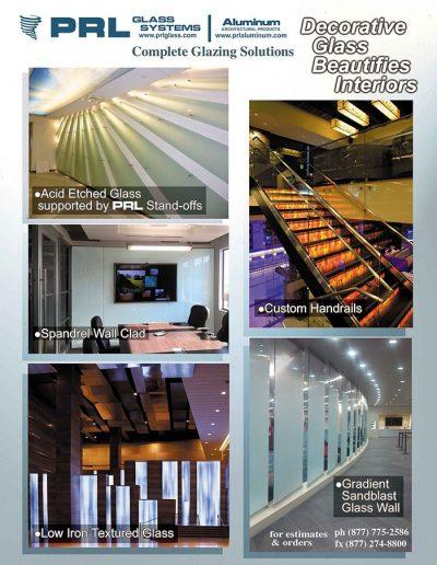 Decorative Glass Beautifies Interiors