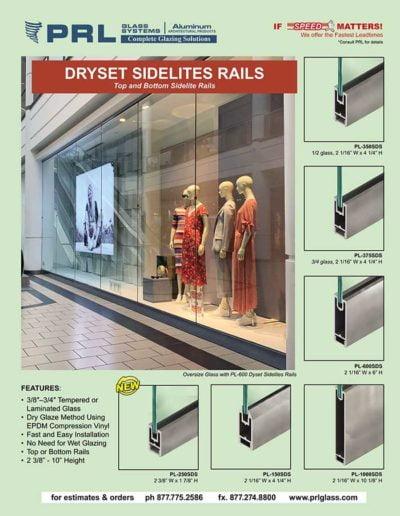 dryset sidelite rails