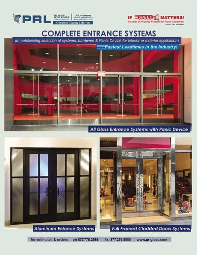 Entrance Door Systems
