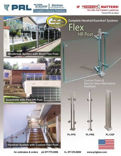 Flex Post Handrail/Guardrail System