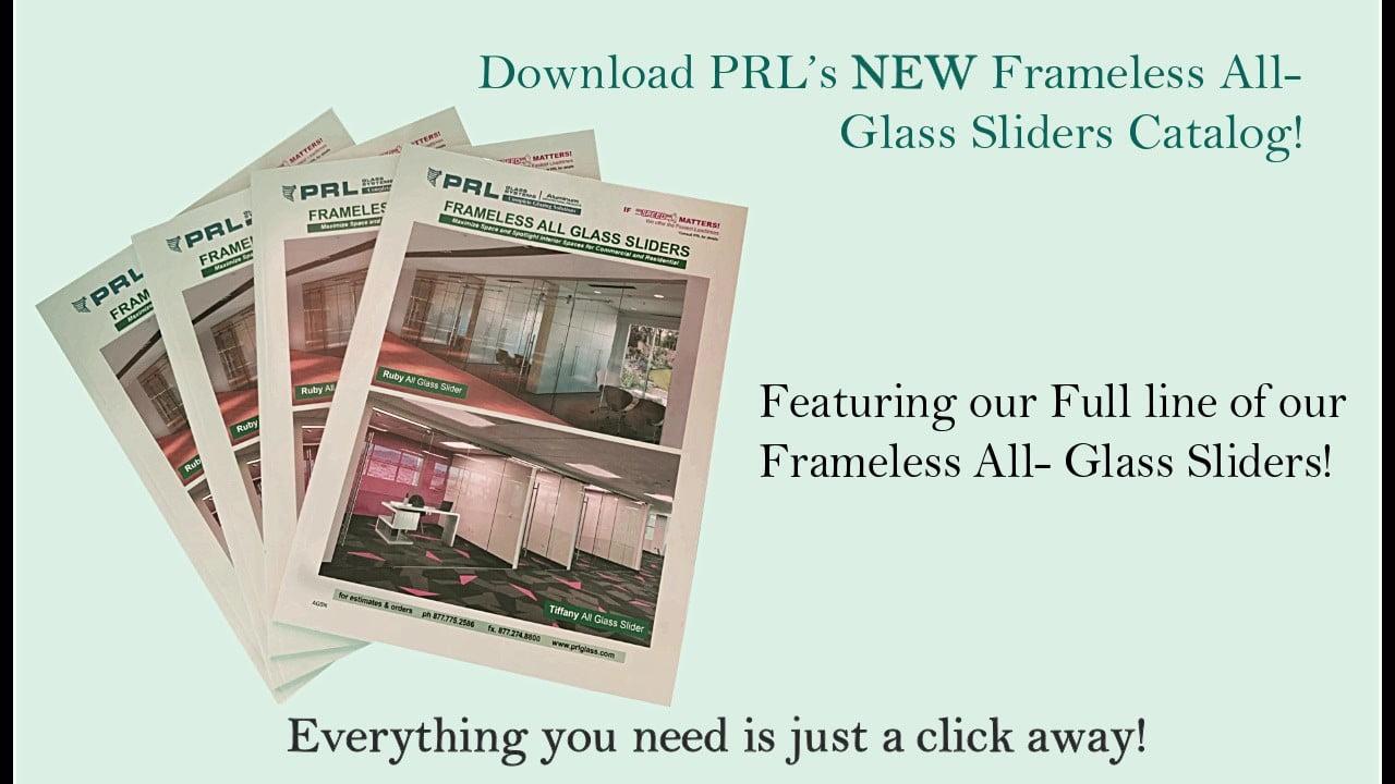 Frameless All Glass Sliders Catalog Video