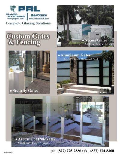 frameless glass gates