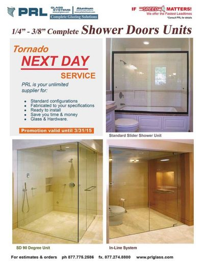 Frameless Shower Doors and Glass