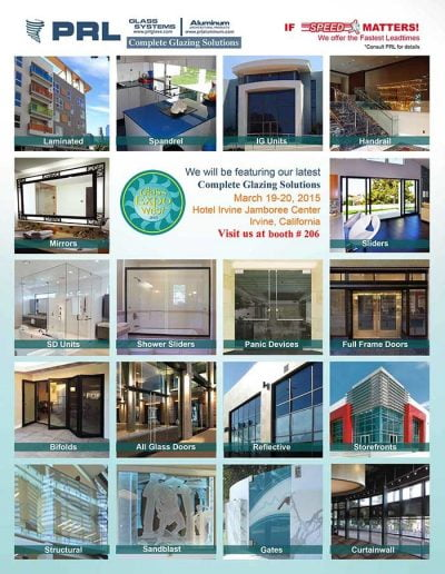 Free Admission - Glass Expo West 2015