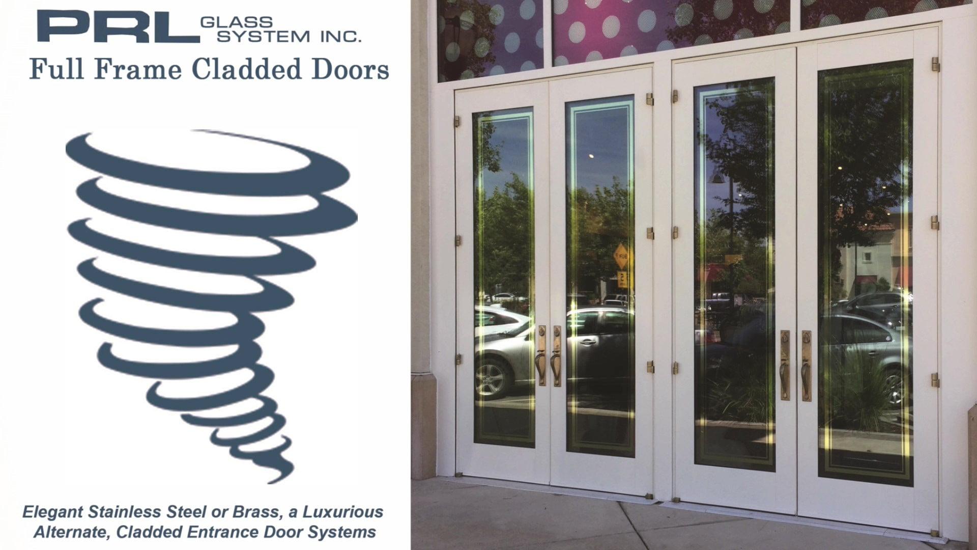 Full Frame Cladded Doors Video