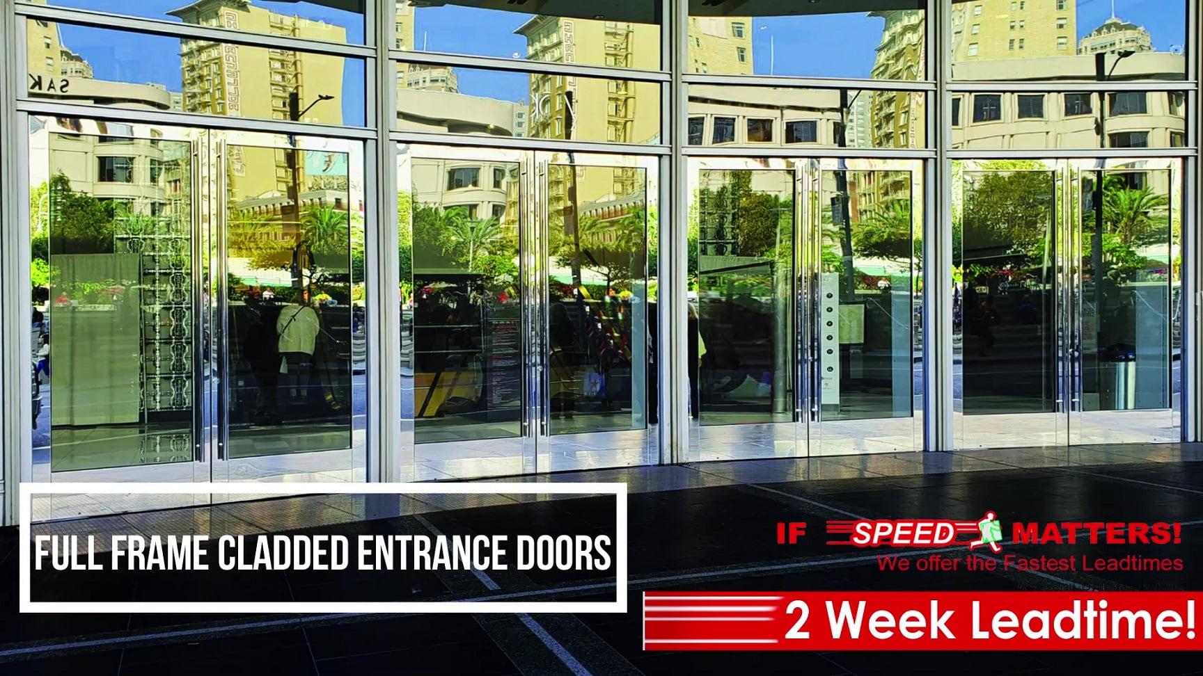 Full Frame Cladded Entrance Doors Video