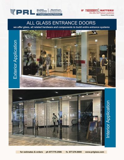 Glass and Aluminum Entrance Systems