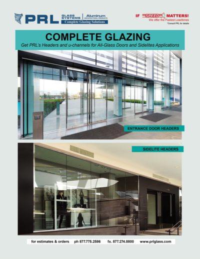 Glass Door and Sidelite Headers