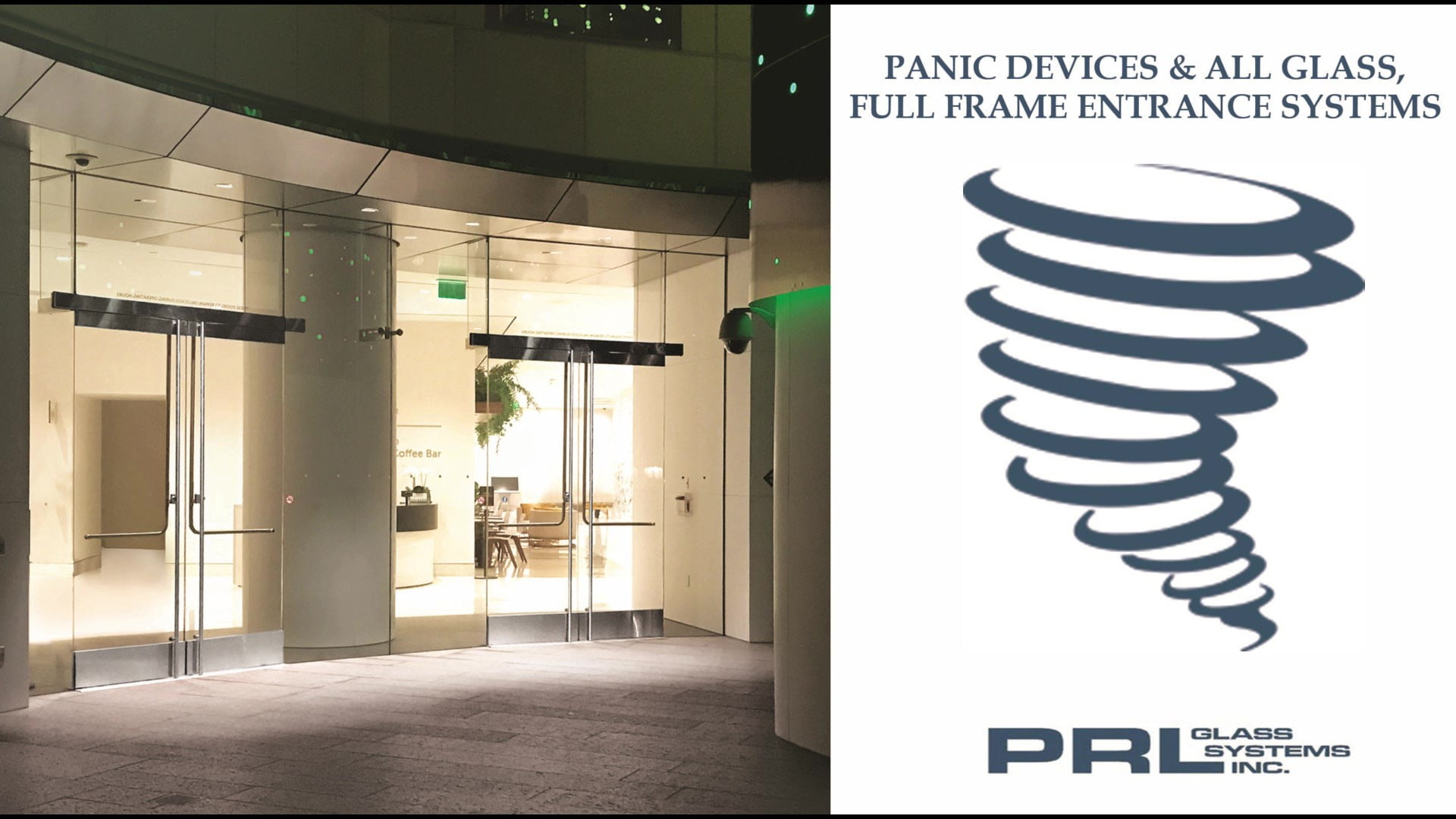 Glass Door Panic Devices Video