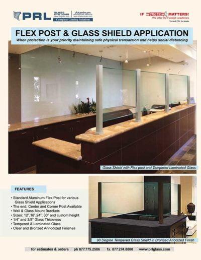 Glass shields