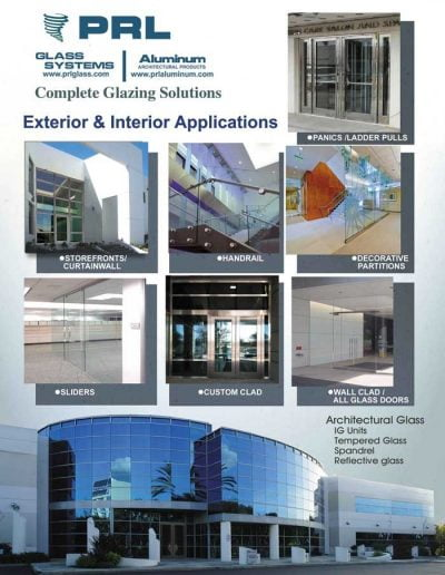 Glazing Applications