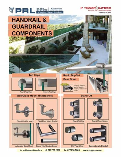 Handrail and Guardrail Components