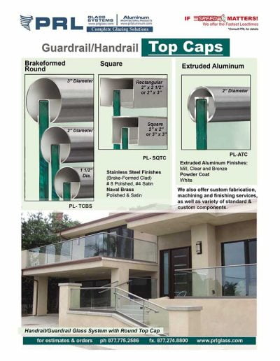 Handrail Top Cap