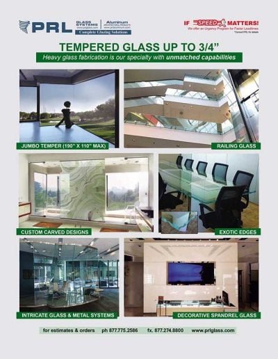 Heavy Tempered Glass Specialist