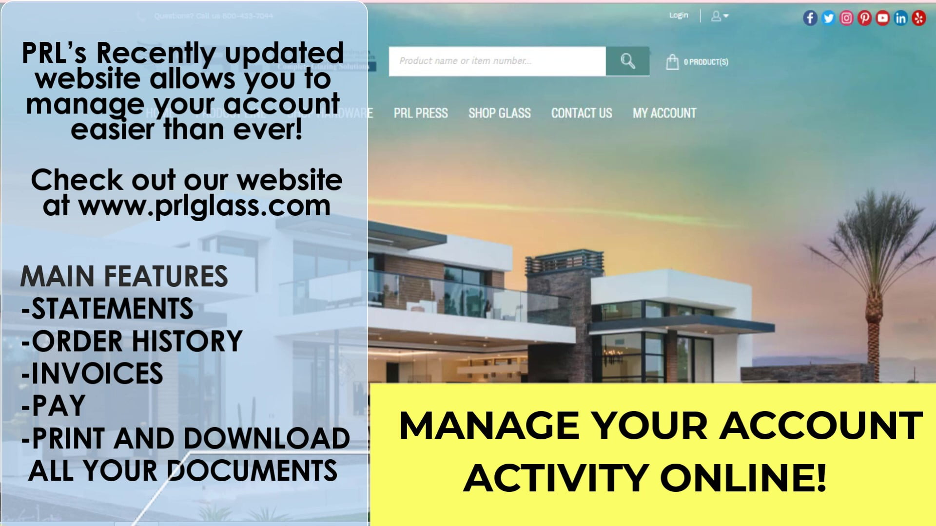 How To Manage PRL Account Online Video