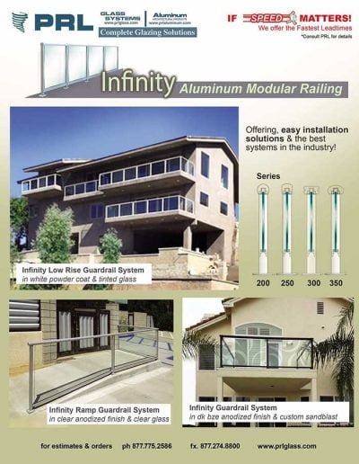 Infinity Glass Guardrail System