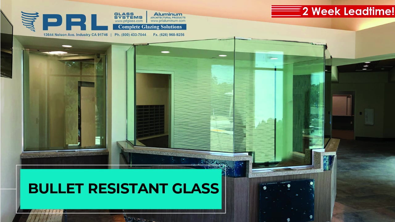 Laminated Bullet Resistant Glass Video
