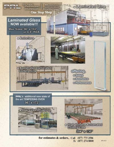 Laminated Glass Manufacturing