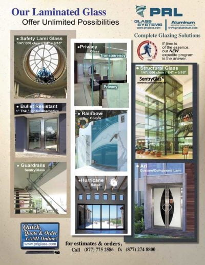 Laminated Glass PossiblitiesZ