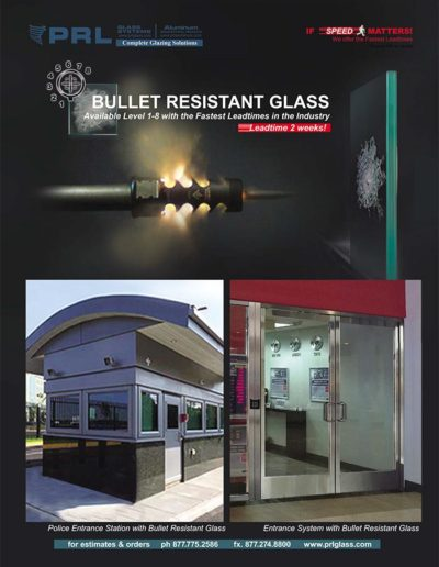 laminated security glass products