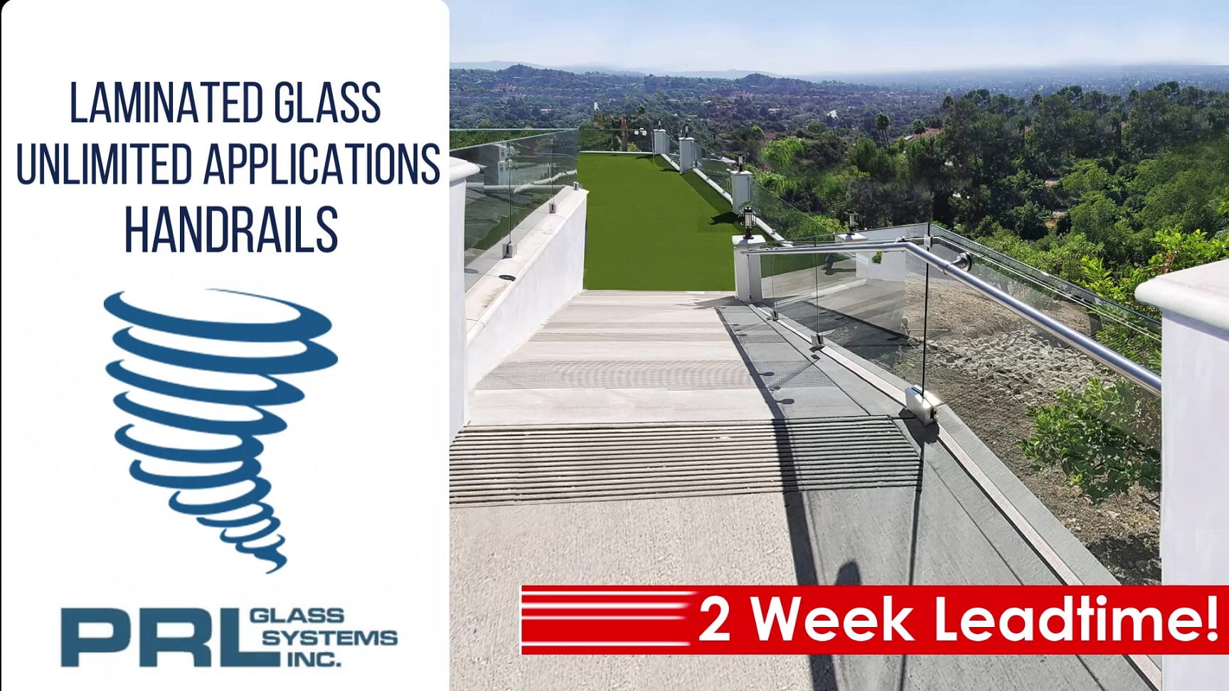 Laminated SentryGlas® Handrails Video