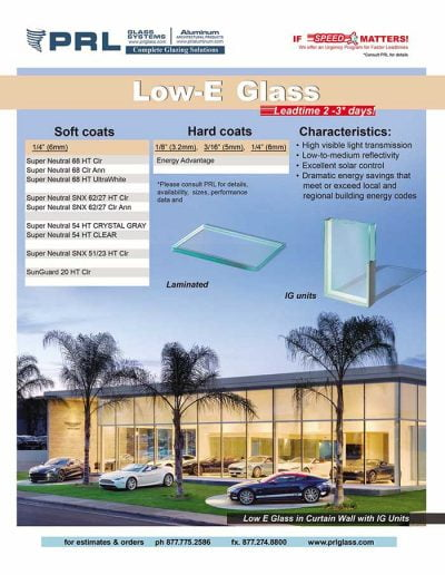 Low-E Architectural Glass