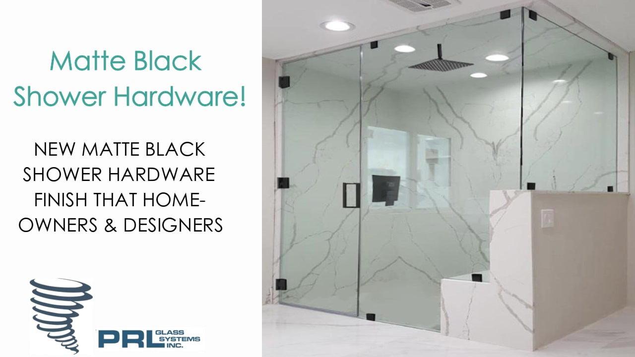 Matte Black Shower Hardware Video