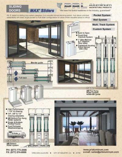MAX' Slider Door System