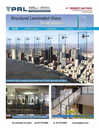 New White Translucent Structural SentryGlas®