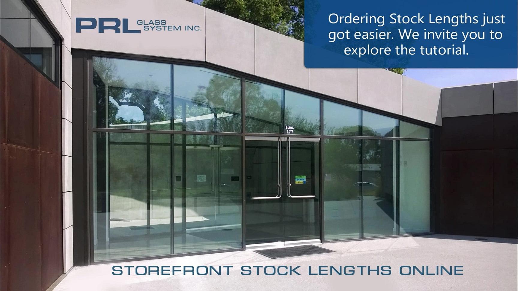 Order Aluminum Storefront Stock Lengths Online Video