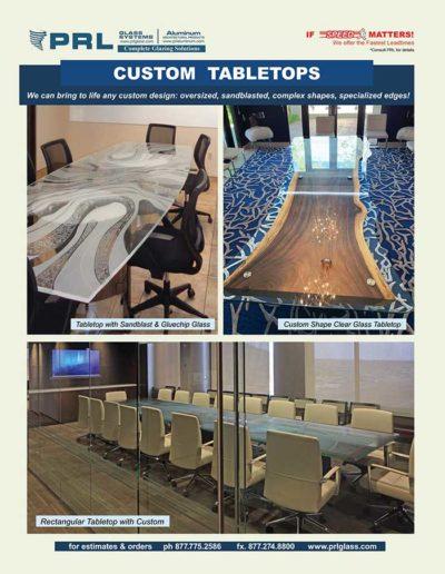 order custom glass table tops