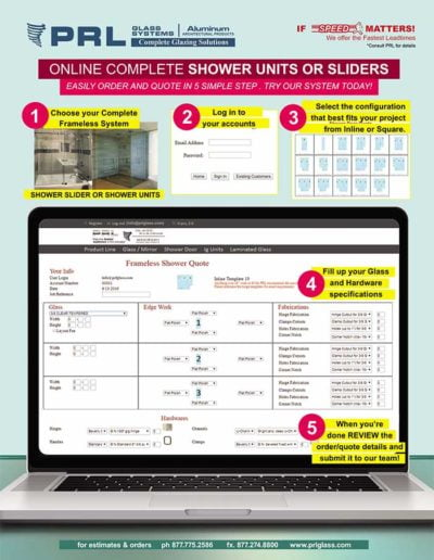 Order Shower Systems Online