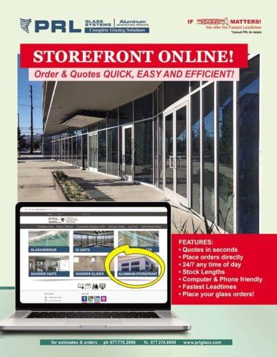 order storefront stock lengths online