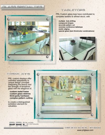 PG51A W1 Glass Fabrication