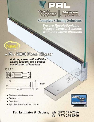 PRL PL-2000 HD Floor Closer