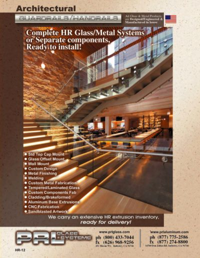 PRL 2012 Glass Handrail Catalog
