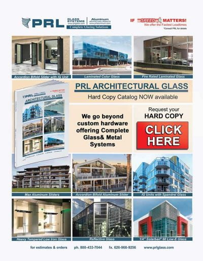 PRL 2018 Architectural Glass Catalog