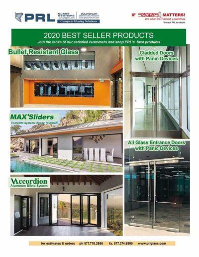 PRL 2020 Best Sellers
