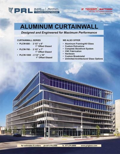 prl architectural glass and metal products