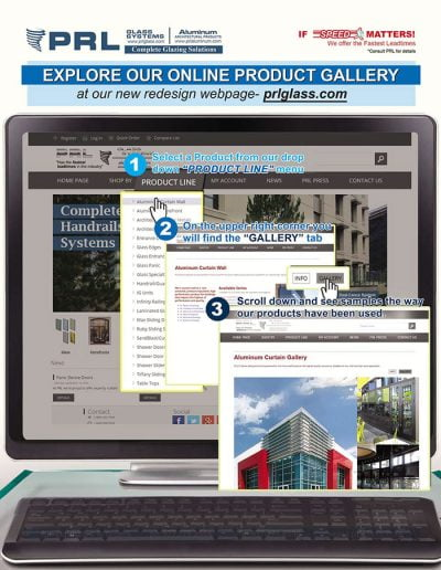 PRL Glazing Products Galleries