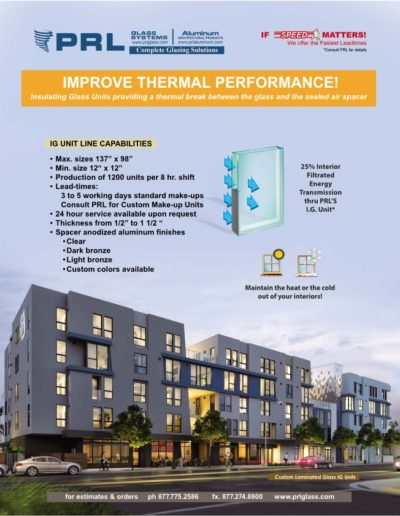 PRL Insulated Glass Units