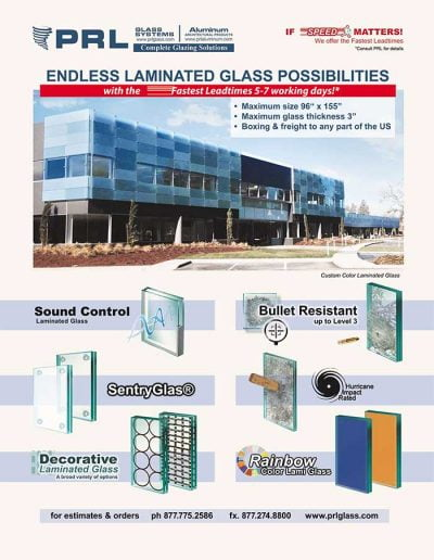 PRL Laminated Glass