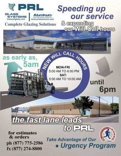 PRL New Will Call Hours