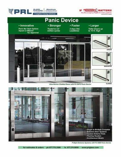 PRL Panic Device